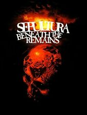 SEPULTURA cd cvr BENEATH THE REMAINS 30 YEARS Official SHIRT 3XL New soulfly