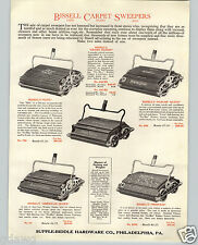 1925 PAPER AD Bissell Carpet Sweeper Elite Grand Rapids Parlor Queen American