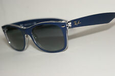RAYBAN SUNGLASSES  2132  BLUE 6053/71  ANTI  GLARE 52MM  NEW  WAYFARER
