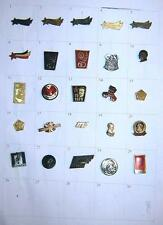 LOT of 25 pin badges - Ex Yugoslavia, Tito, Partizans, Communist party, etc.