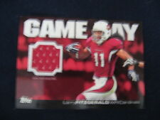 LARRY FITZGERALD GAME-USED JERSEY RELIC CARD--2011 TOPPS