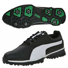 PUMA MEN'S TITANLITE GOLF SHOES SIZE:US 9 BLACK/WHITE 187579 TITAN LITE  17103