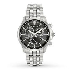 New Citizen Eco-Drive Calibre 8700 Perpetual Calendar Mens Watch BL8140-55E