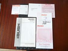 Bush 2571 NTX COLOUR TV 11ak19 Manuale di Istruzioni * LEGGERE *