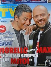 TV Sorrisi e Canzoni n°22 2013 nuovo alblum di Max Pezzali - Violetta  [M15]
