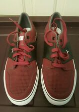 PUMA ECO ORTHO LITE MAROON SUEDE AND BLACK SHOES MENS SIZE 7