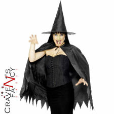 Adult Instant Wicked Witch Set Ladies Halloween Fancy Dress Costume Accessory