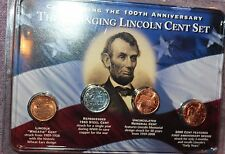 The Changing Lincoln Cent Set Celebrating the 100 Anniversary