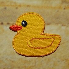 Petit écusson patch thermocollant brodé Canard Little Duck