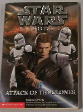 Attack of the Clones by Patricia C. Wrede (2002, Paperback) Star Wars Episode II