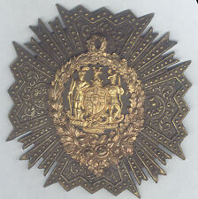 ANCIENT ORDER of FORESTERS EARLY with STAG LOOKING RIGHT BADGE G. TUTILL LONDON