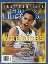 GOLDEN STATE WARRIORS COMMEMORATIVE SPORTS ILLUSTRATED NBA CHAMPION MVP Curry