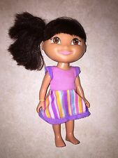 "Dora The Explorer Doll Mattel 6"" Figure Toy Nick Jr."