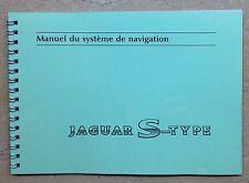 Manuel du Système de Navigation Jaguar S-Type