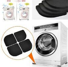 4pcs Washing Machine Shock Mute Pads Refrigerator Non-slip Anti Vibration Mats
