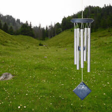"""Woodstock CHIMES OF MARS BLUE WASH WIND CHIMES, Total Hanging Length 17"""""""