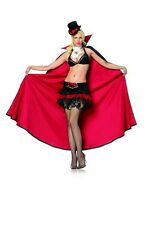 Sexy Vampire Queen Costume, Leg Avenue XS (6-8), Halloween, Cape, Delux