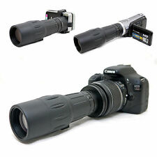 10x 42 1000mm Telescope for Canon EOS Rebel XT 350D Kiss N EF-s 18-55mm Lens