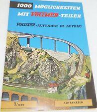 1/1959 Voies d'accès 1000 Possibilités avec Vollmer Part # å
