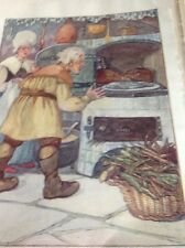 Ephemera 1935 Book Plate Anne Anderson Great Claus And Little Claus M481