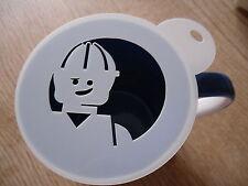Taglio laser costruzione LEGO Caffè e Craft Stencil