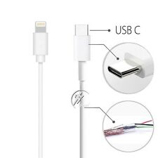 USB-C 3.1 Type C Male to 8 Pin Lightning data Charge Cable iPhone/MacBook Etc
