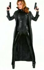 Custom Made Leather Underworld Selene Costume Coat Jacket Corset Cuffs Cosplay