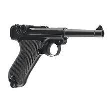 Umarex 2251803 Legends Parabellum P.08 300fps .177 Caliber CO2 BB Air Pistol