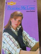 Promise Me Love by Jane Redish (Paperback, 1987) Sweet Dreams No. 115