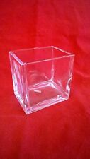 Glass Vase - Clear, Rectangle, small