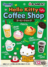"Re-ment Sanrio Hello Kitty miniature ""Coffee Shop"" 12-box Complete set!"