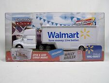 DISNEY CARS WALLY HAULER SEMI TRUCK DIE-CAST PIXAR MINTY SEALED MISB WALMART HTF