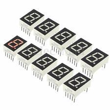 10pcs Red 7 Segment 0.5'' LED Display Digital Tube Common Anode 1 Bit DIY Module