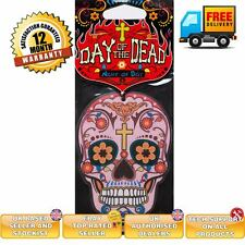 Candy Skull car air freshener Day of the Dead Night od Day scent