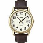 Timex T2N3699J Men's Easy Reader Brown Leather Strap Watch