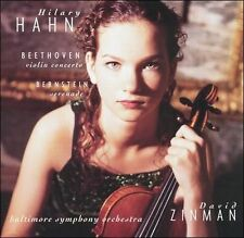 Hilary Hahn ~ Beethoven - Violin Concerto · Bernstein - Serenade, New Music