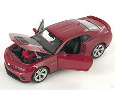 BLITZ VERSAND Chevrolet Chevy Camaro ZL1 rot / red Welly Modell Auto 1:24 NEU