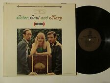 Peter Paul And Mary Moving Folk LP