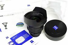 Carl Zeiss 15mm f2.8 T* Distagon  ZF.2 Lens f/Nikon Film/Digital SLR Mint In Box