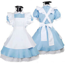 Halloween Maid Costume Alice In Wonderland Sexy Maids Outfit Fancy Dress Cosplay