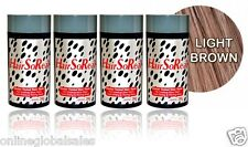 4 x HairSoReal, HSR Hair Loss Concealer,Cover Bald Spots Instantly ~Light Brown