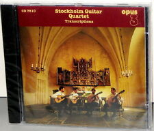 OPUS 3 CD 7810: Stockholm Guitar Quartet - TRANSCRIPTIONS - OOP 1995 SWEDEN SS