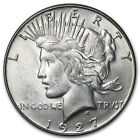 1927-S Peace Silver Dollar Coin - Brilliant Uncirculated - SKU #2044