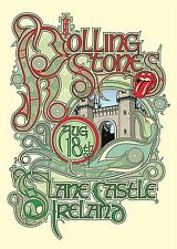 The Rolling Stones Slane Castle- Co.Meath, Ireland- Aug 18, 2007 poster repro..