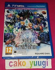 WORLD OF FINAL FANTASY EDITION DAY ONE SONY PS VITA NEUF VERSION FRANCAISE