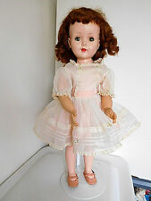 "Vintage 1950's Sweet Sue 23"" Hard Plastic Walker All Orig. w/Red Hair Amer. Char"