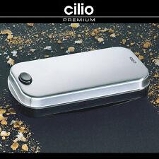 cilio - Tischkehrer - Edelstahl satiniert