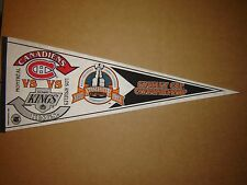 1993 Stanley Cup Finals Canadiens vs Kings NHL Hockey Champions Pennant