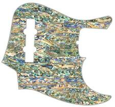 J Jazz Bass Pickguard Custom Fender Graphical Guitar Pick Guard Shell Pearl Paua