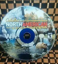 Cabela's North American Adventures Wii republic heroes (NO CASE) #10200